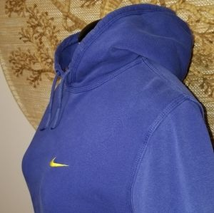 Women's Nike Blue Tag Pullover Hooded Sweatshirt